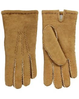 Handsewn Camel Lambskin Glove