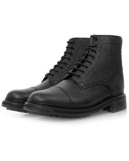 Joseph Black Leather Boot 5303/