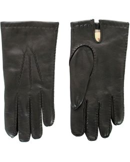 Cashmere Brown Gloves