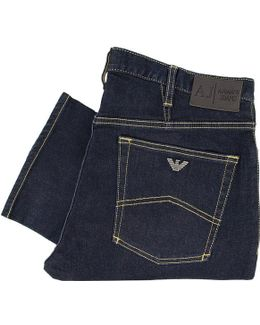 J06 Fitted Denim Jeans