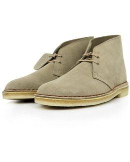 Clarks Original Sand Suede Desert Boot