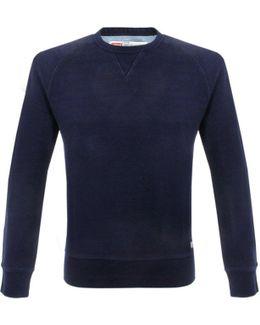 Levi's Original Crew Neck Indigo Sweatshirt