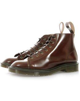 Dr. Martens Les Tan Boanil Brush Boots
