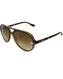 Rayban Cats 5000 Tortoise Sunglasses 710/51/