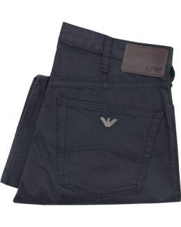 Armani J21 Navy Chino Jeans 8n6j21 6n0lz