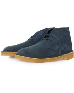Midnight Suede Desert Boot
