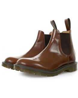Dr Martens Graeme Tan Boanil Brush Boots
