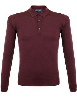Tyburn Port Ls Polo Shirt