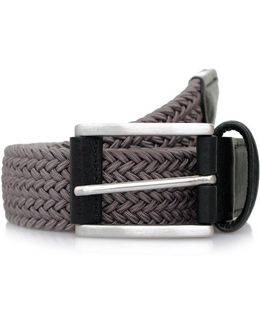 Anderson's Woven Grey Belt B0667 Ne37