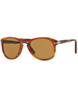 714 Foldable Brown Sunglasses 0po0714 52/