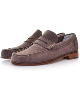 Ashley Brown Leather Shoes