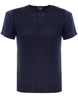 Knit Blue T-shirt