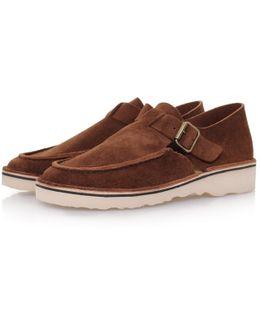 D151 Brown Suede Sandals