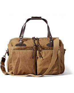 48 Hour Tan Duffle Bag