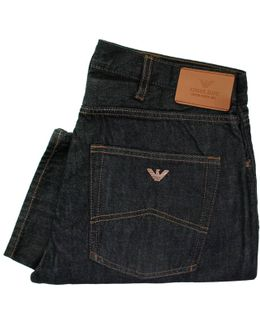 J45 Slim Fit Dark Denim Jeans
