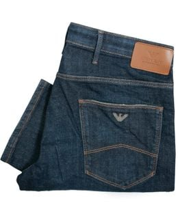 J06 Indigo Slim Fit Jeans