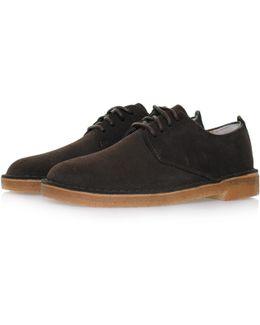 Desert London Dark Brown Suede Shoe