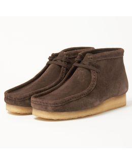 Wallabee Suede Chukka Boots