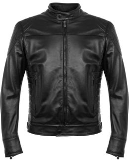 Model X Reloaded Black Leather Jacket 113151