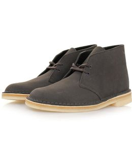 Desert Boot Charcoal Suede Boots