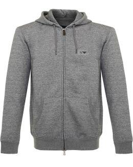 Zip Grigio Grey Track Jacket