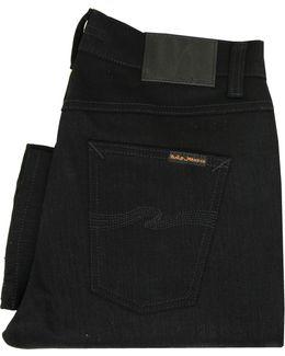 Lean Dean Dry Cold Black Denim Jeans