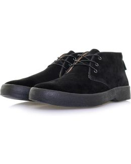 Bass Stanford Mid Suede Black Boot Ba5014250X