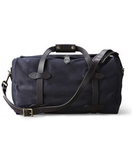 Small Navy Duffle Bag