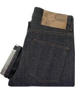Naked And Famous Super Skinny Kapok Indigo Selvedge Denim Jeans