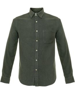 Teca Green Flannel Shirt