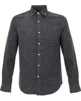 Teca Grey Flannel Shirt