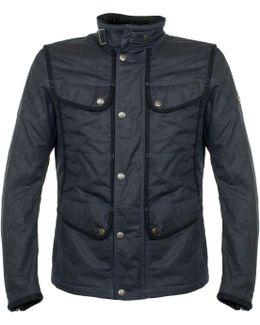 New Kensington Navy Wax Jacket 110044