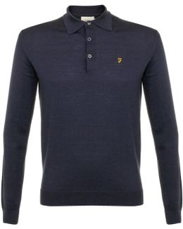 Knitted Yale Polo Shirt