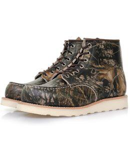 Moc Toe 8884 Mossy Oak Camo Boots