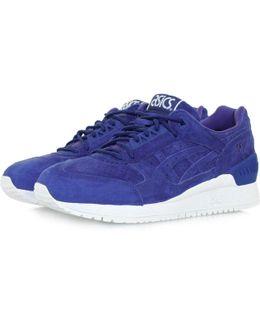 Gel Respector Blue Print Suede Shoe H6v0l