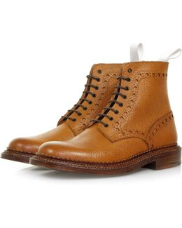 Neighborhood X Charles Tan Leather Boot