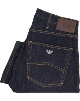 J45 Slim Fit Blue Denim Jeans