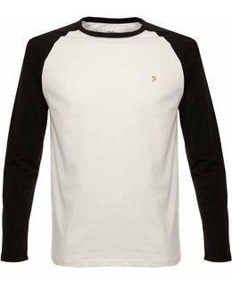 Zemlak Raglan Ls True Navy White