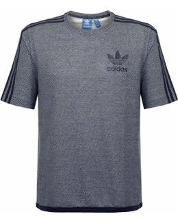 Ac Box Terry Navy T-shirt