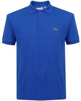 Classic Pique Olympus Blue Polo Shirt