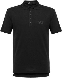 M Seasonal Black Polo Shirt