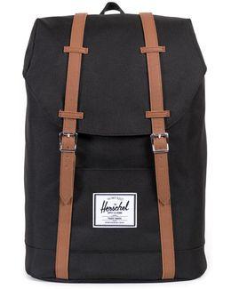 Herschel Supply Retreat Black Backpack