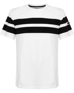 Barbour Pembrey Striped White T-shirt