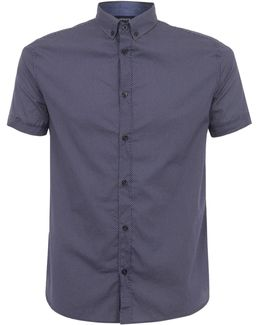 Fantasia Blue Short Sleeve Shirt