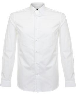 Walker Basic Stretch White Shirt