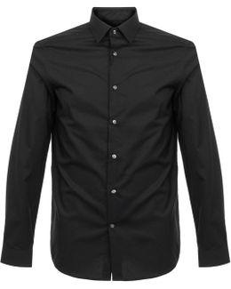 Walker Basic Stretch Black Shirt