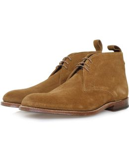 Marcus Snuff Suede Boot