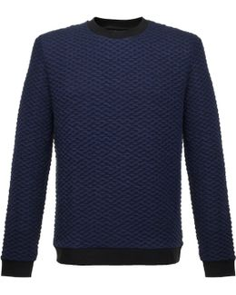 Kannor Blister Navy Sweatshirt