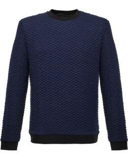 Kannor Blister Navy Sweatshirt