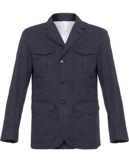 Hackett Safari Navy Summer Blazer Jacket